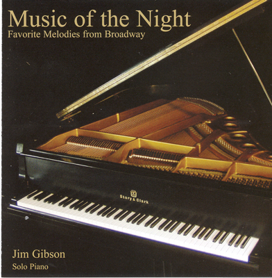 Music of the Night: Favorite Songs of Broadway CD cover