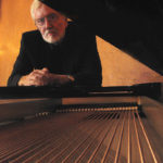 Jim Gibson at a Steinway grand